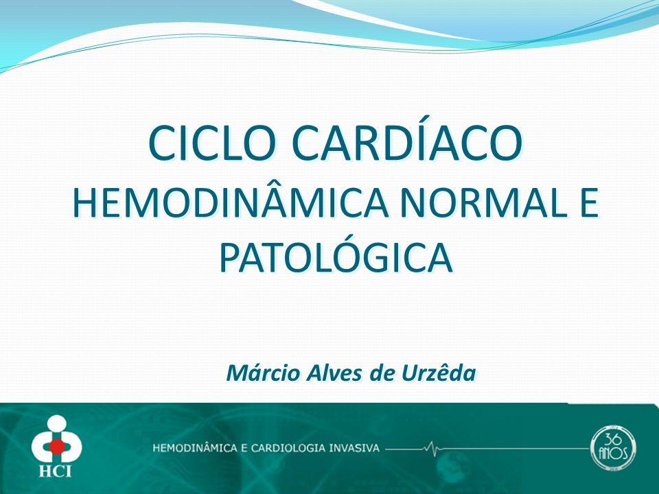 CICLO CARDÍACO HEMODINÂMICA NORMAL E PATOLÓGICA