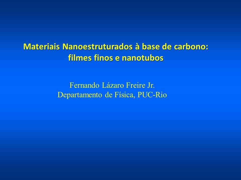 Materiais Nanoestruturados à base de carbono: filmes finos e nanotubos