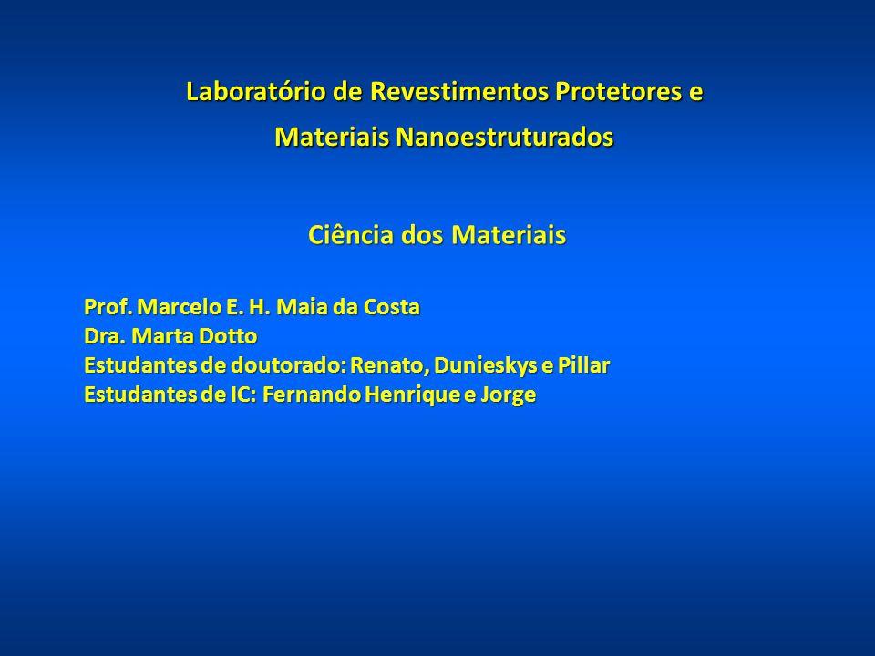 Laboratório de Revestimentos Protetores e Materiais Nanoestruturados