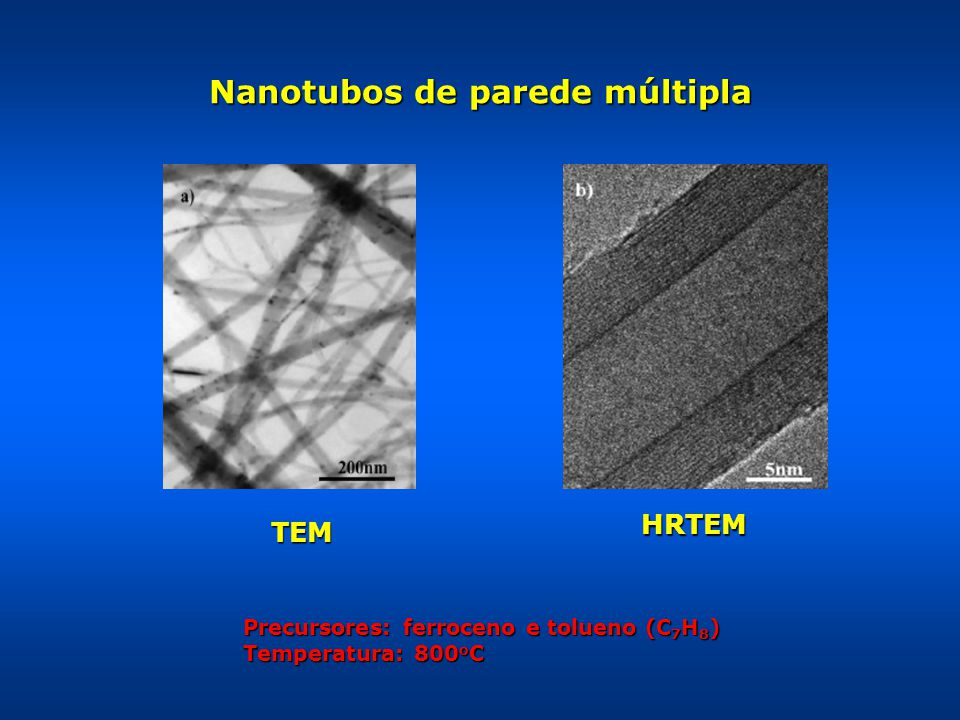 Nanotubos de parede múltipla
