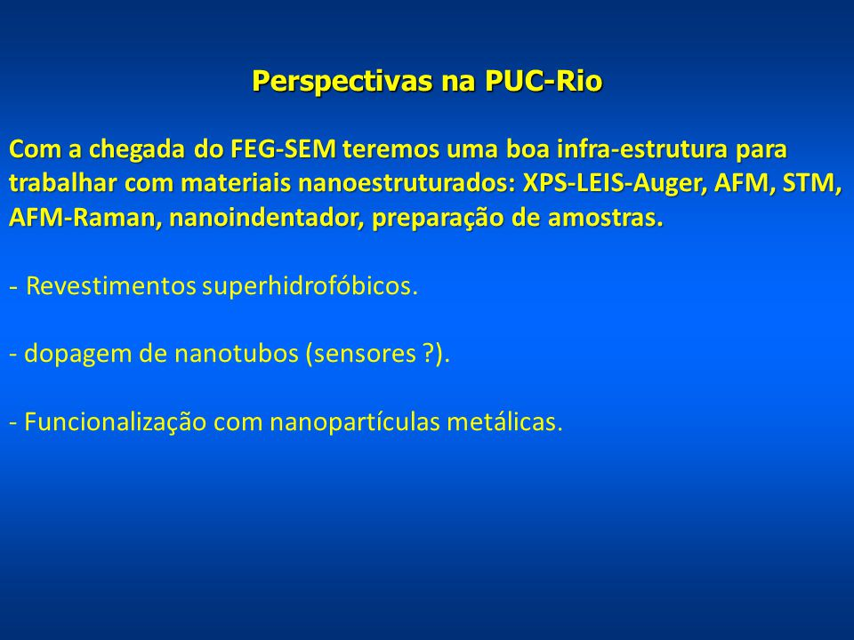 Perspectivas na PUC-Rio