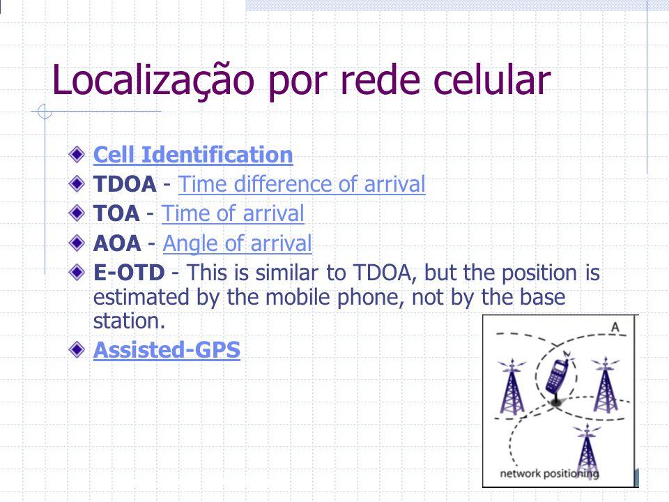 Localização por rede celular