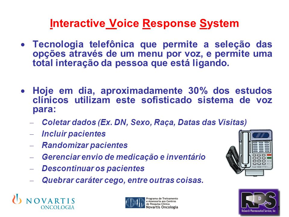 Interactive Voice Response System