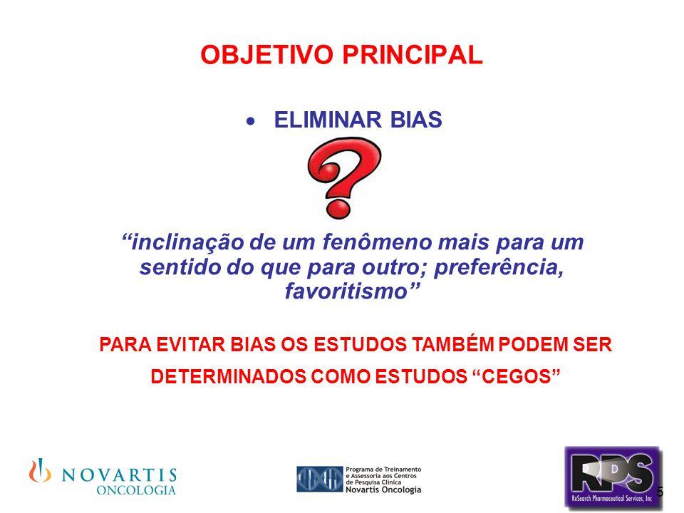 OBJETIVO PRINCIPAL ELIMINAR BIAS