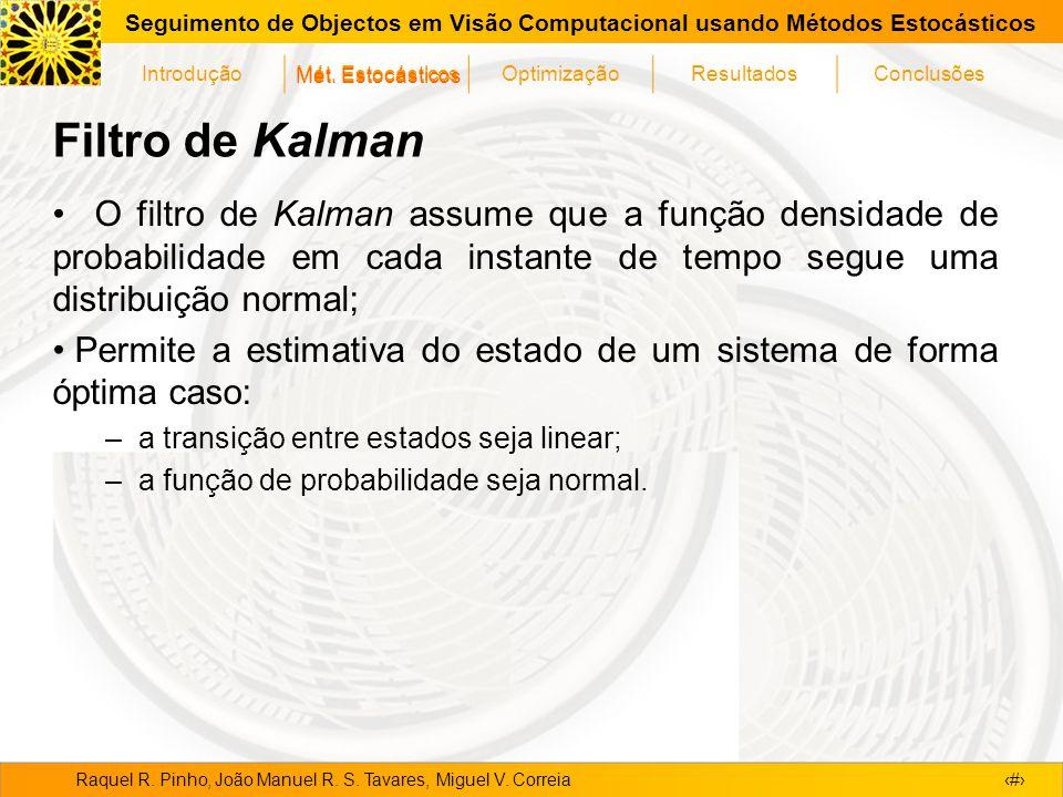 Mét. Estocásticos Filtro de Kalman.