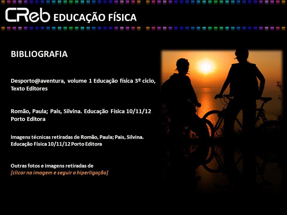 BIBLIOGRAFIA Desporto@aventura, volume 1 Educação física 3º ciclo, Texto Editores
