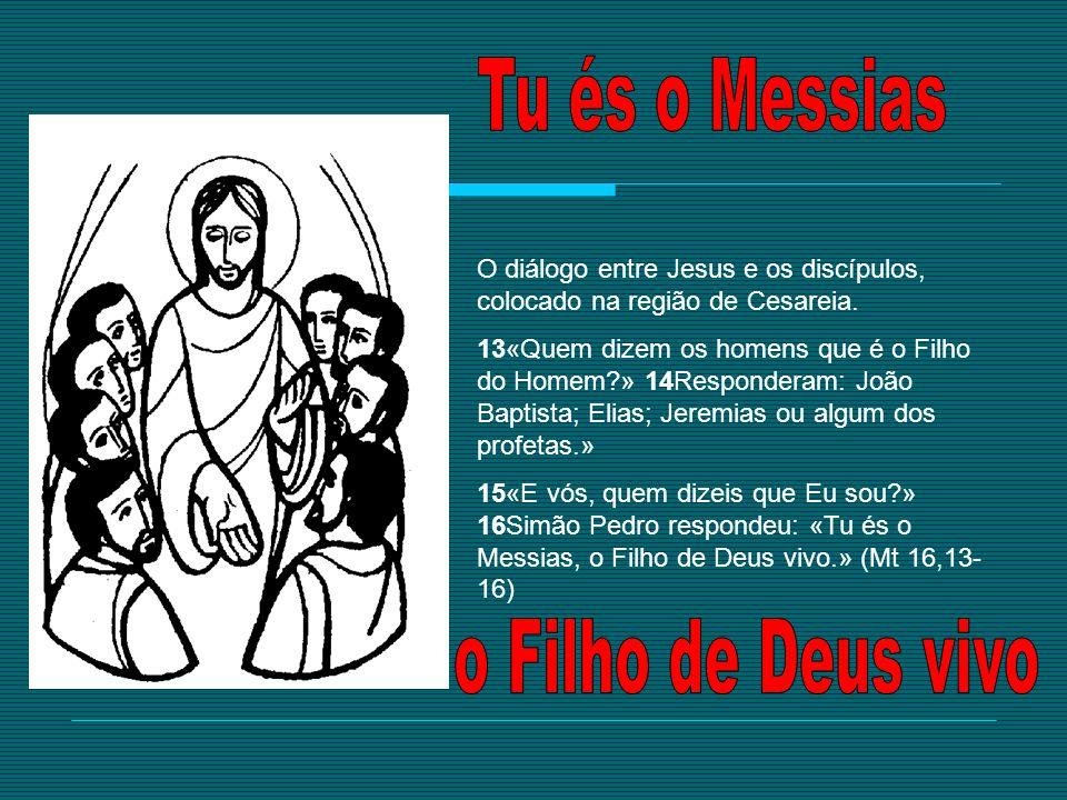 Tu és o Messias o Filho de Deus vivo