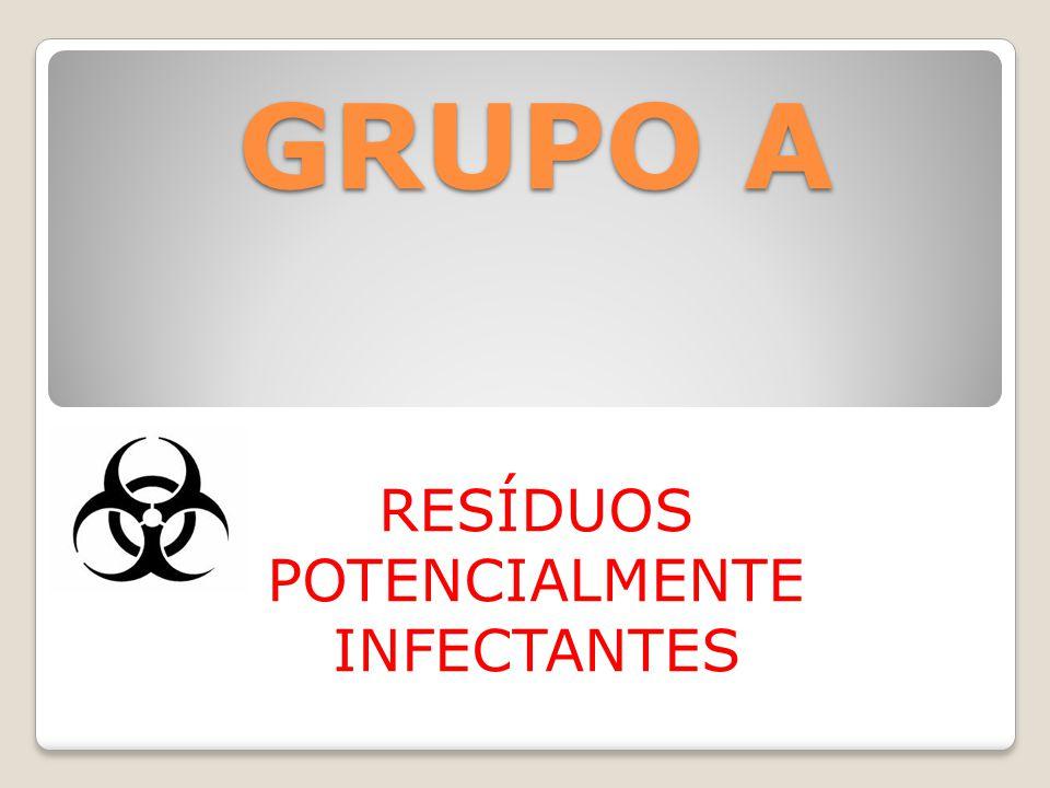 RESÍDUOS POTENCIALMENTE INFECTANTES