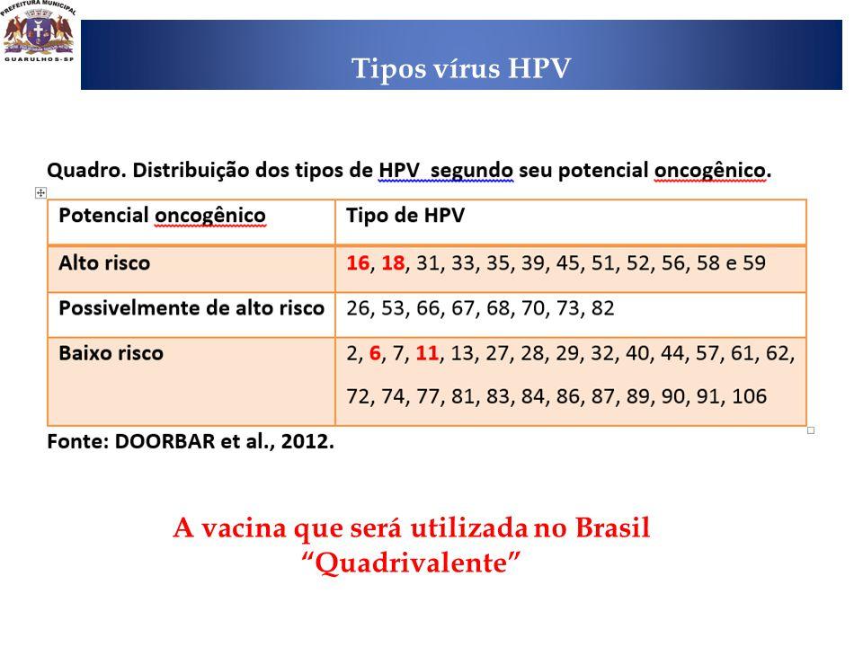 A vacina que será utilizada no Brasil