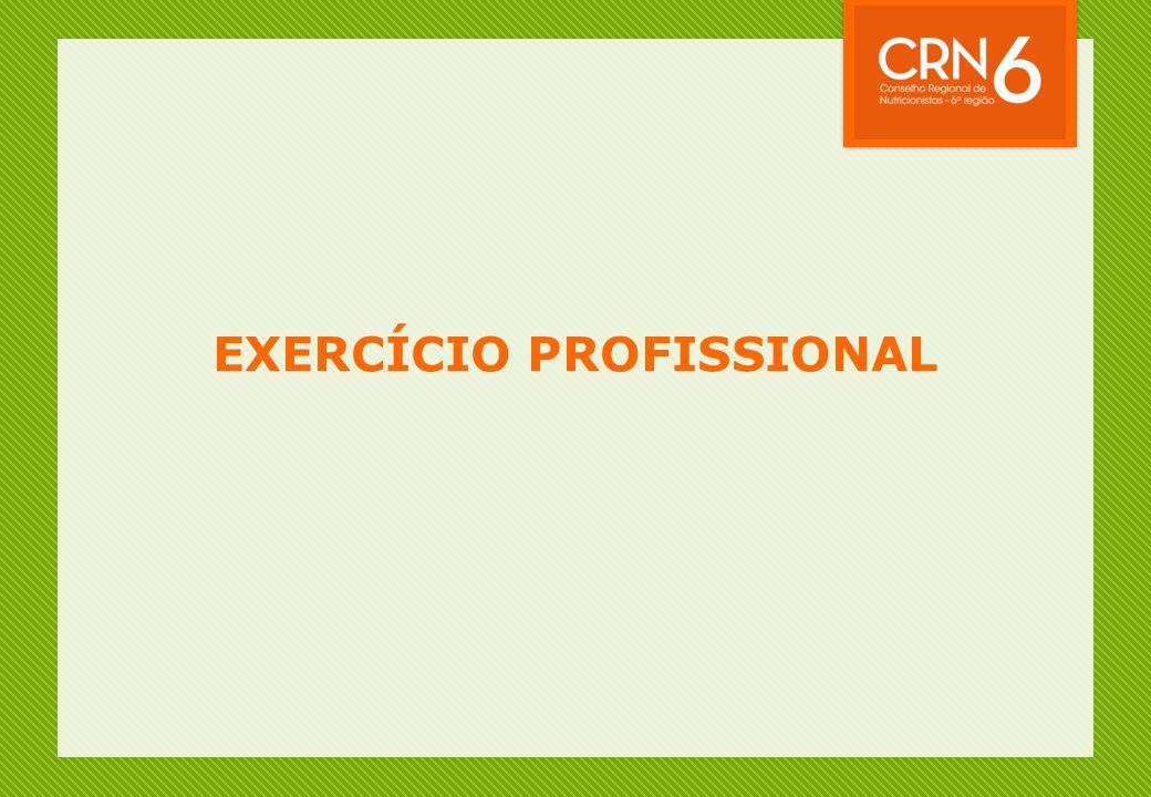 EXERCÍCIO PROFISSIONAL