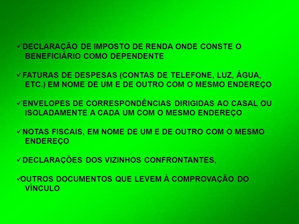 DECLARAÇÃO DE IMPOSTO DE RENDA ONDE CONSTE O