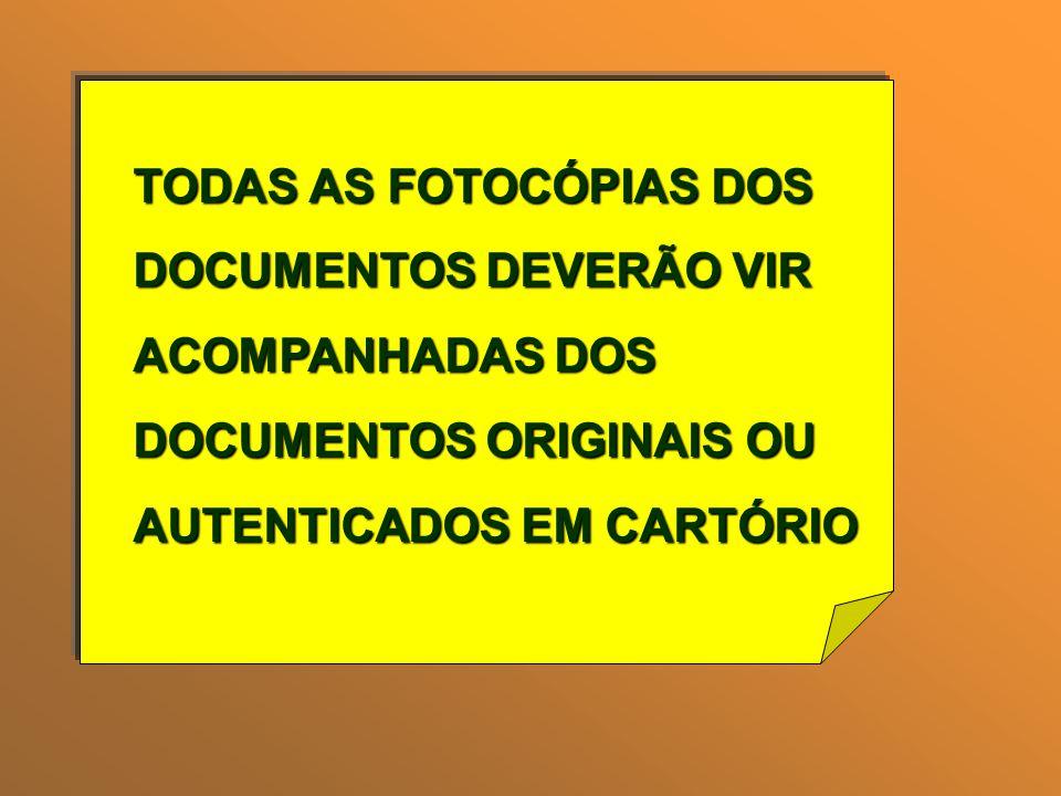 TODAS AS FOTOCÓPIAS DOS