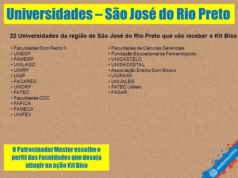 Universidades – São José do Rio Preto