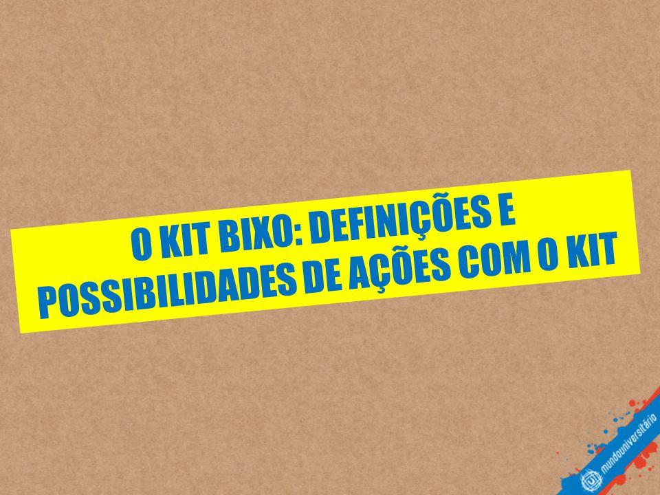 O KIT BIXO: DEFINIÇÕES E POSSIBILIDADES DE AÇÕES COM O KIT
