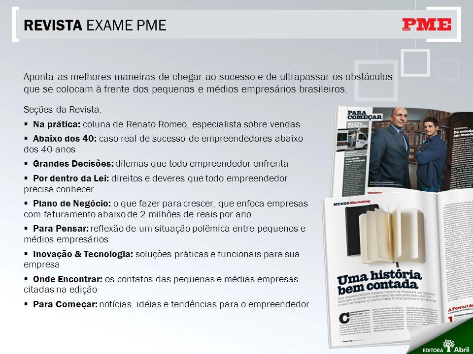REVISTA EXAME PME