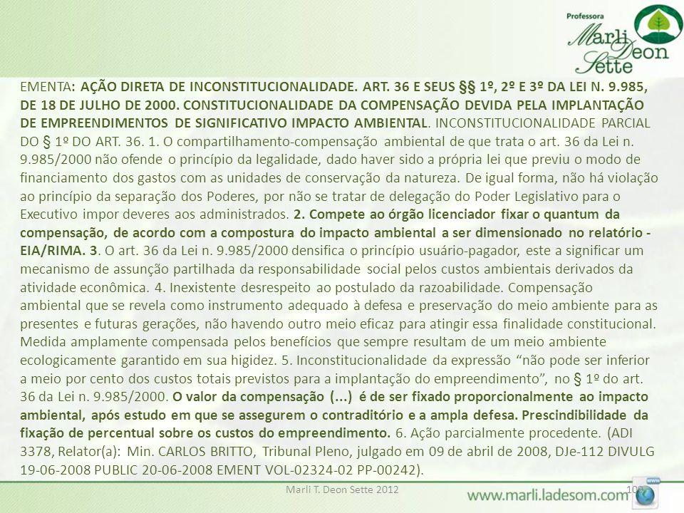EMENTA: AÇÃO DIRETA DE INCONSTITUCIONALIDADE. ART