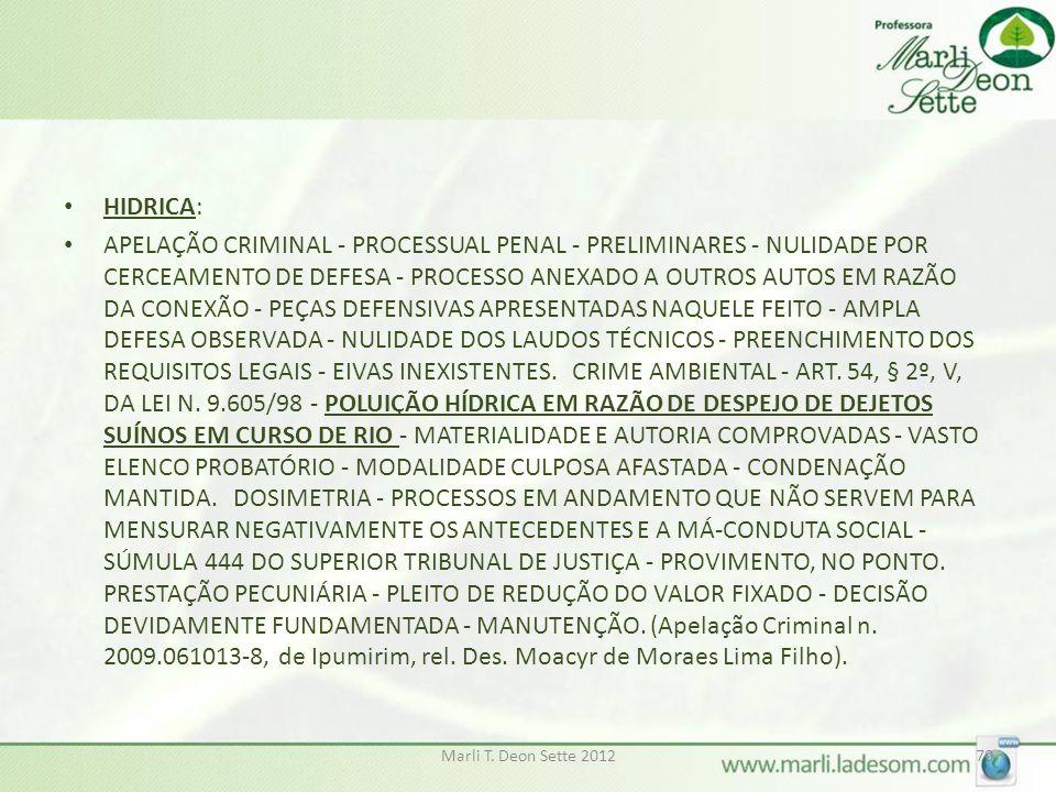 HIDRICA: