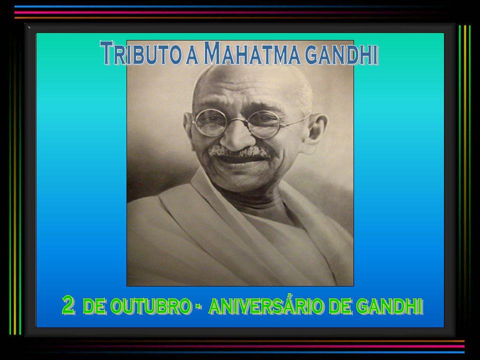 Tributo a Mahatma gandhi