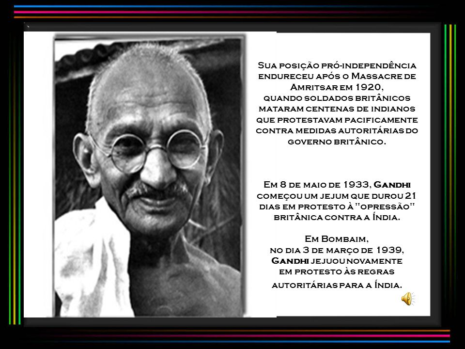 no dia 3 de março de 1939, Gandhi jejuou novamente