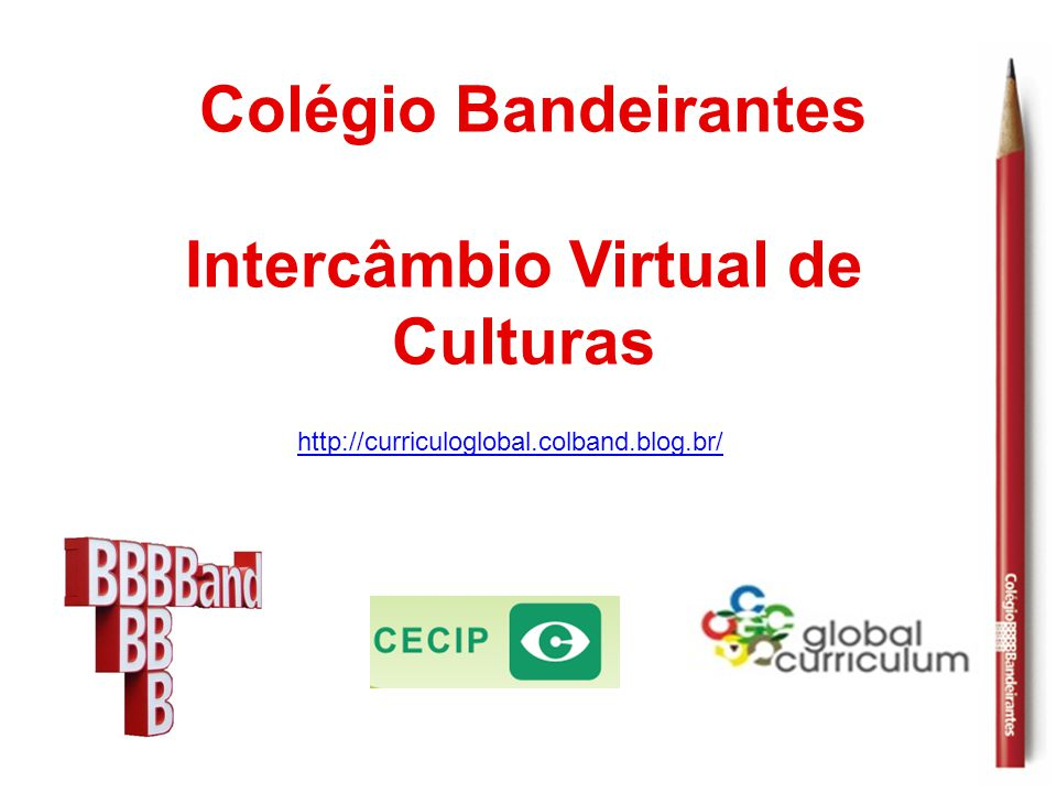 Intercâmbio Virtual de Culturas