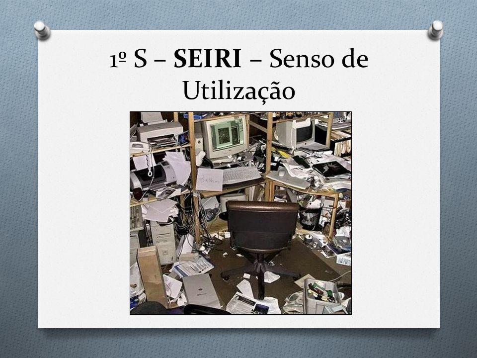 1º S – SEIRI – Senso de Utilização