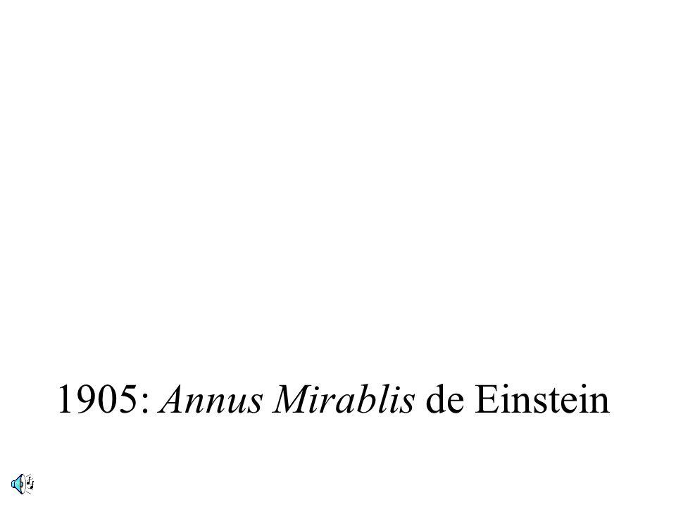 1905: Annus Mirablis de Einstein