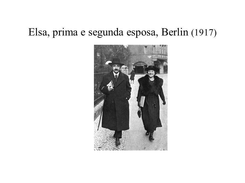Elsa, prima e segunda esposa, Berlin (1917)