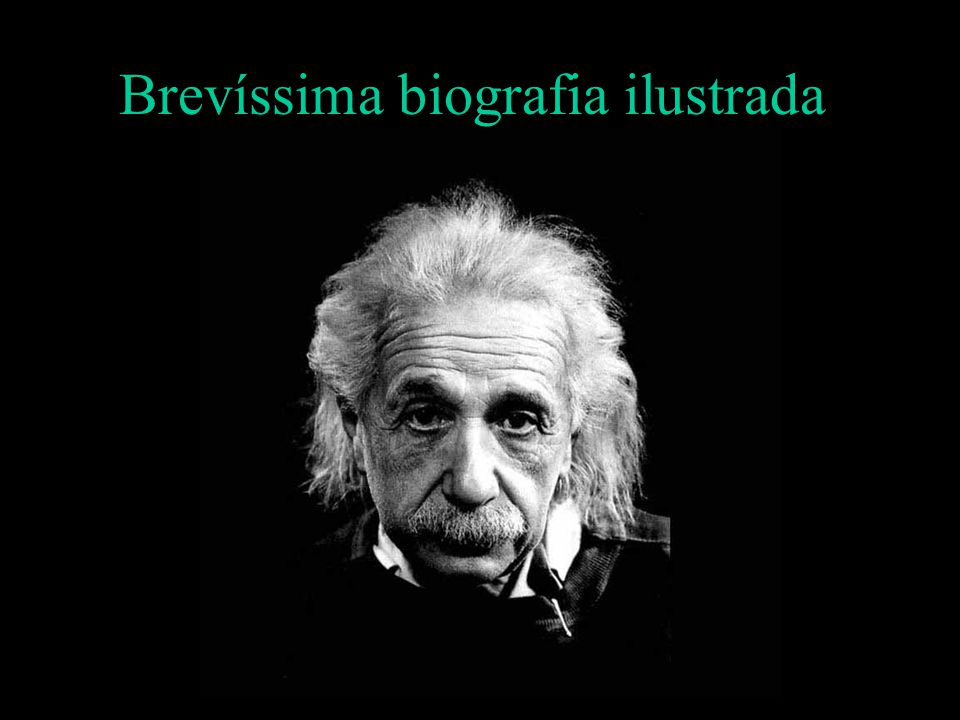 Brevíssima biografia ilustrada