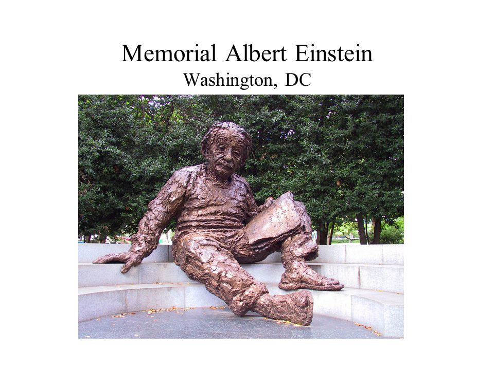 Memorial Albert Einstein Washington, DC