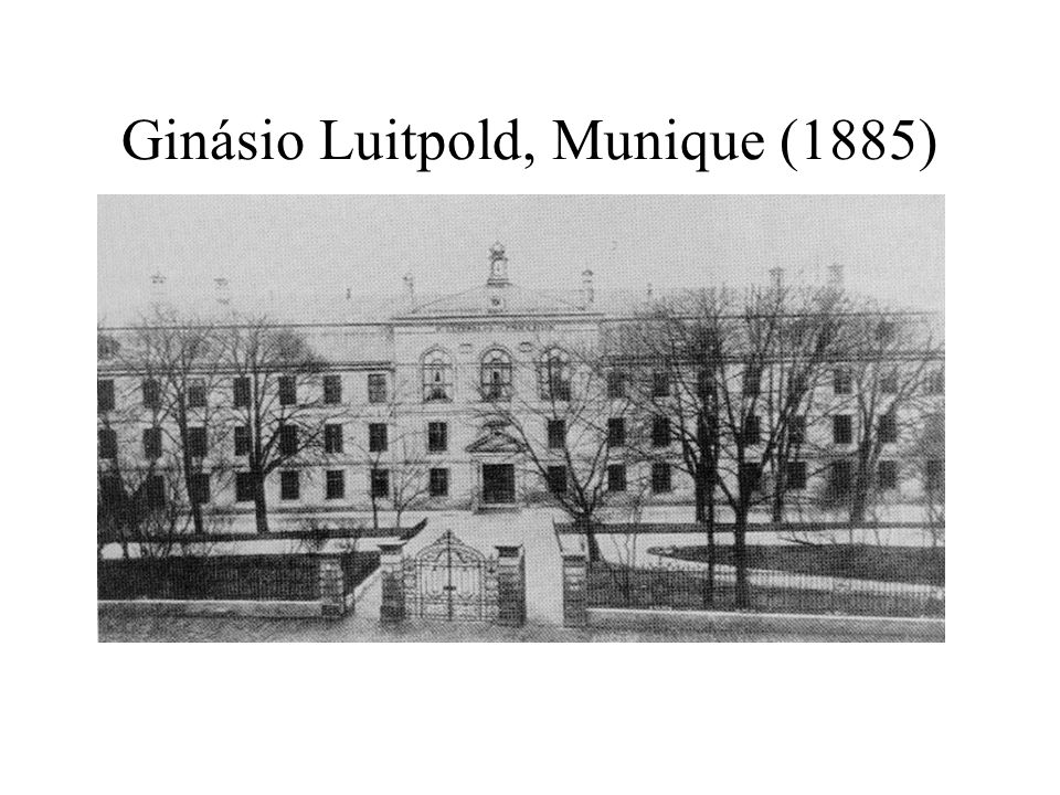Ginásio Luitpold, Munique (1885)