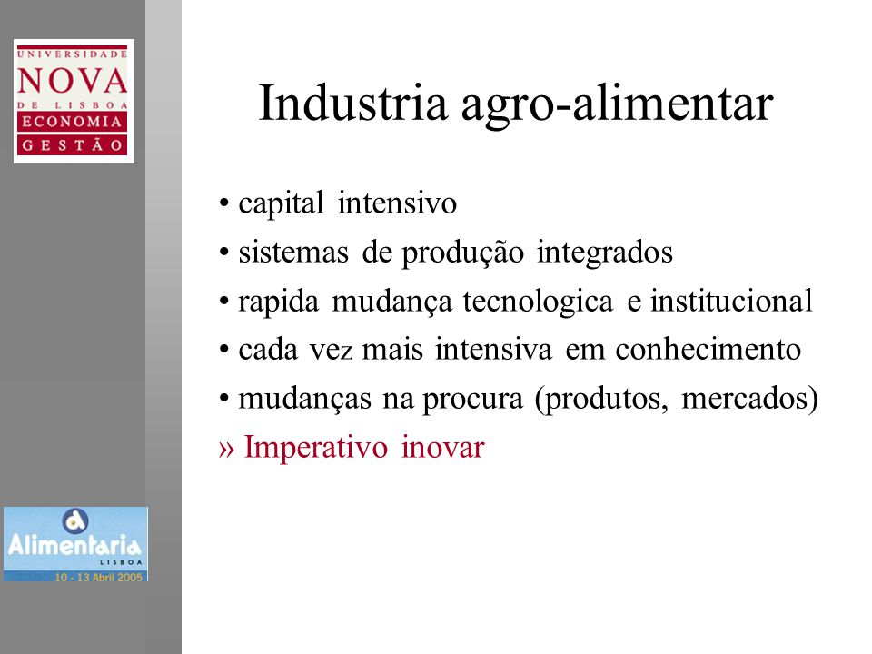 Industria agro-alimentar
