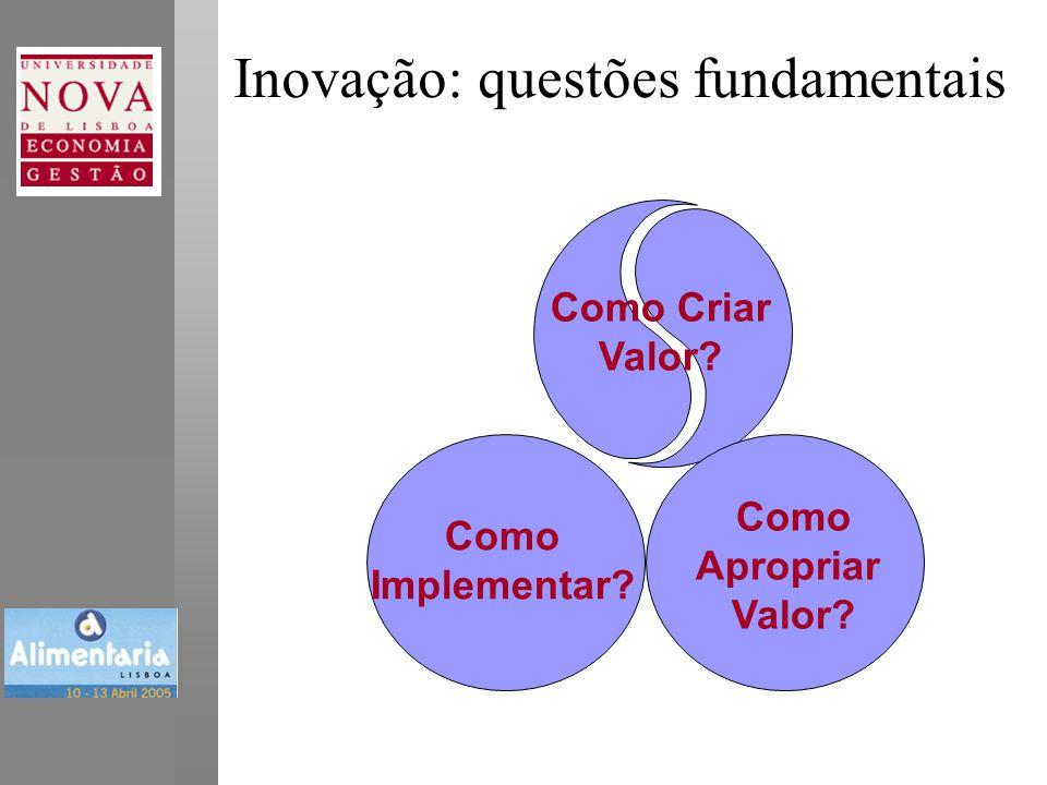 Inovação: questões fundamentais