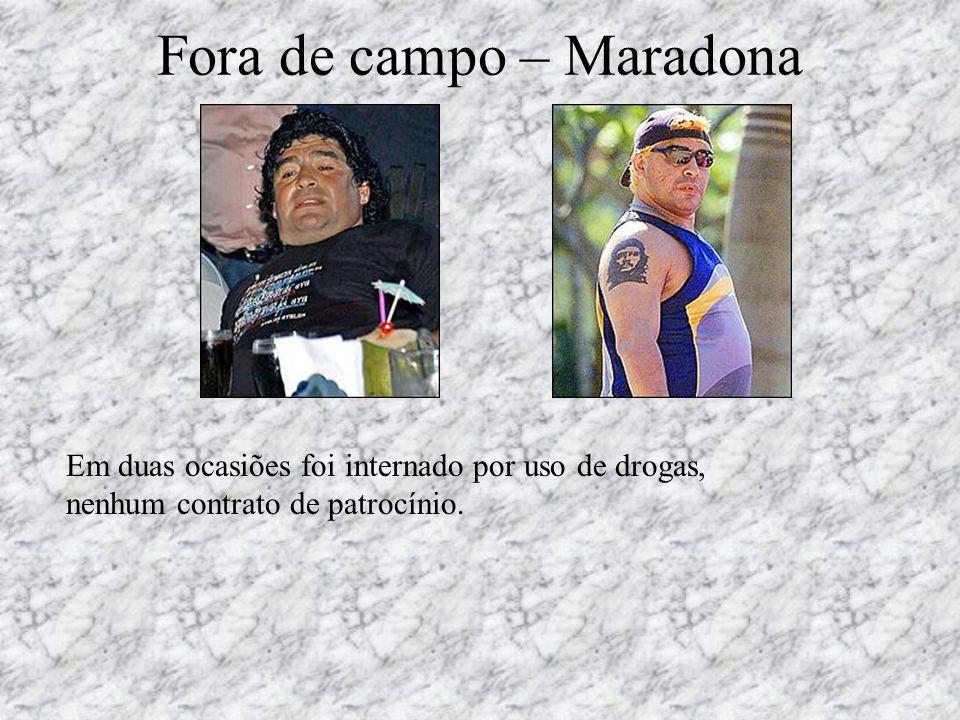 Fora de campo – Maradona