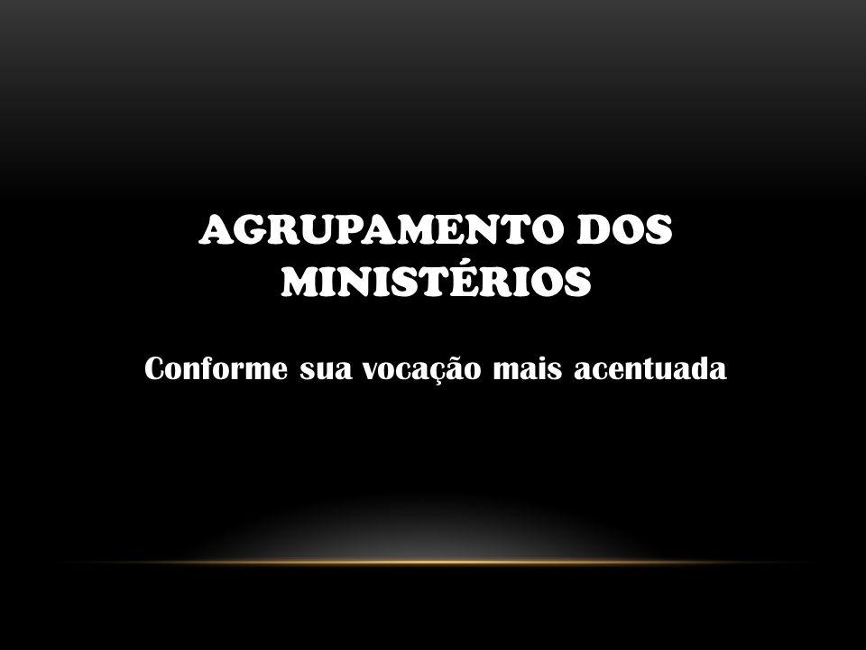 AGRUPAMENTO DOS MINISTÉRIOS