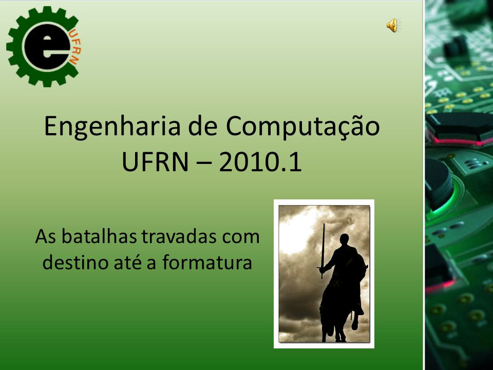 Engenharia de Computação UFRN – 2010.1