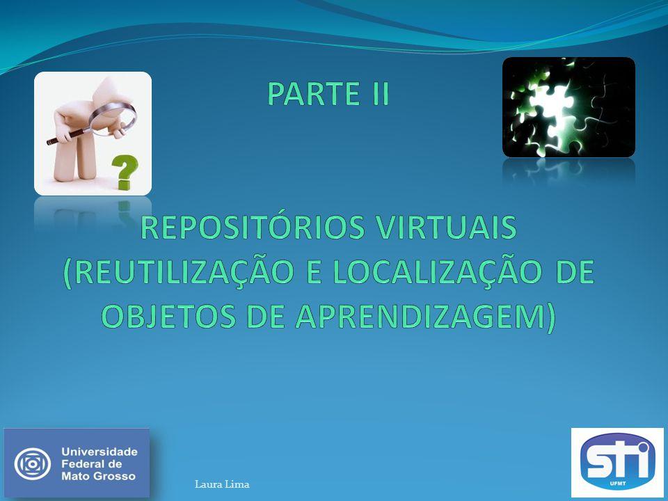 PARTE II REPOSITÓRIOS VIRTUAIS (REUTILIZAÇÃO E LOCALIZAÇÃO DE OBJETOS DE APRENDIZAGEM)