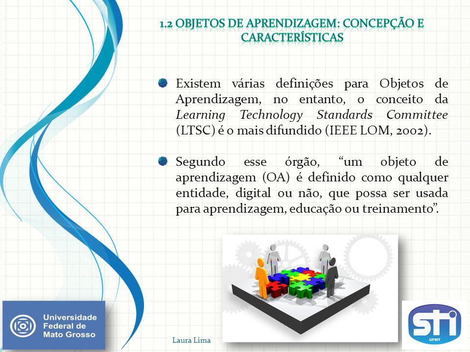 1.2 Objetos de Aprendizagem: concepção e características