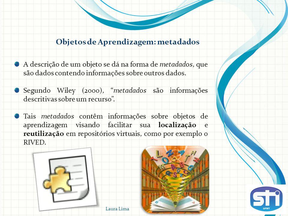 Objetos de Aprendizagem: metadados