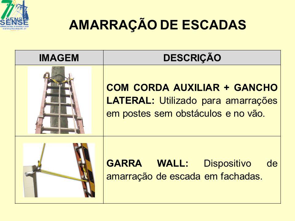AMARRAÇÃO DE ESCADAS IMAGEM DESCRIÇÃO