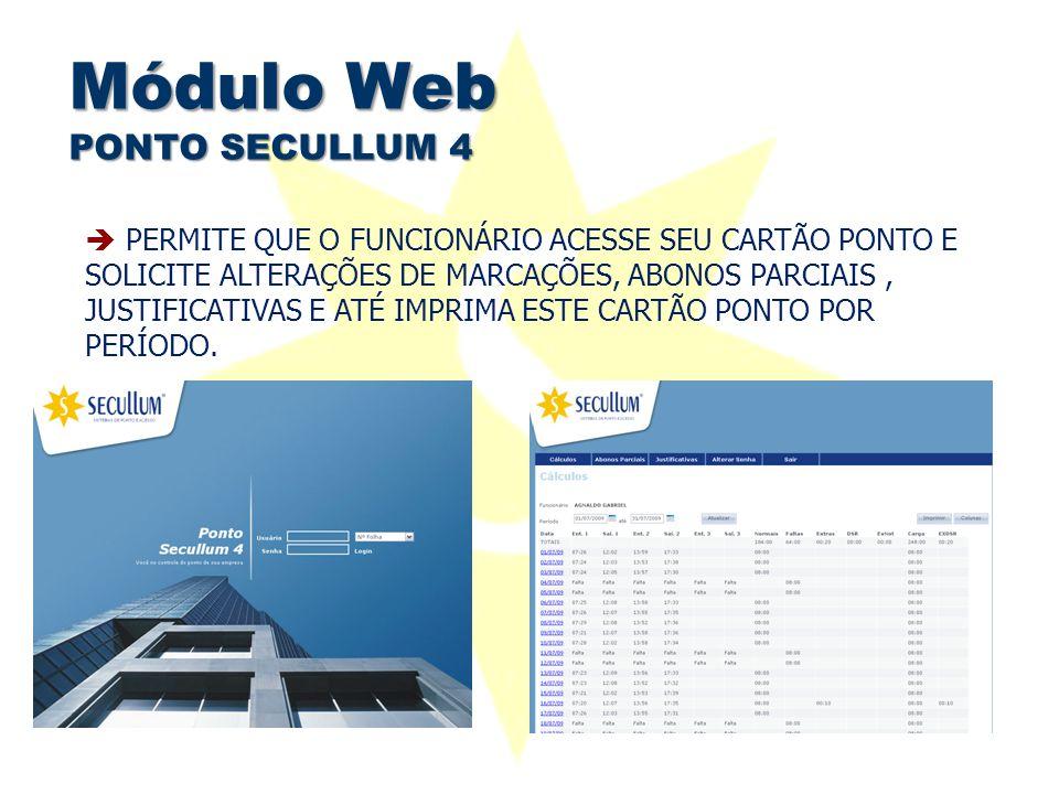 Módulo Web PONTO SECULLUM 4