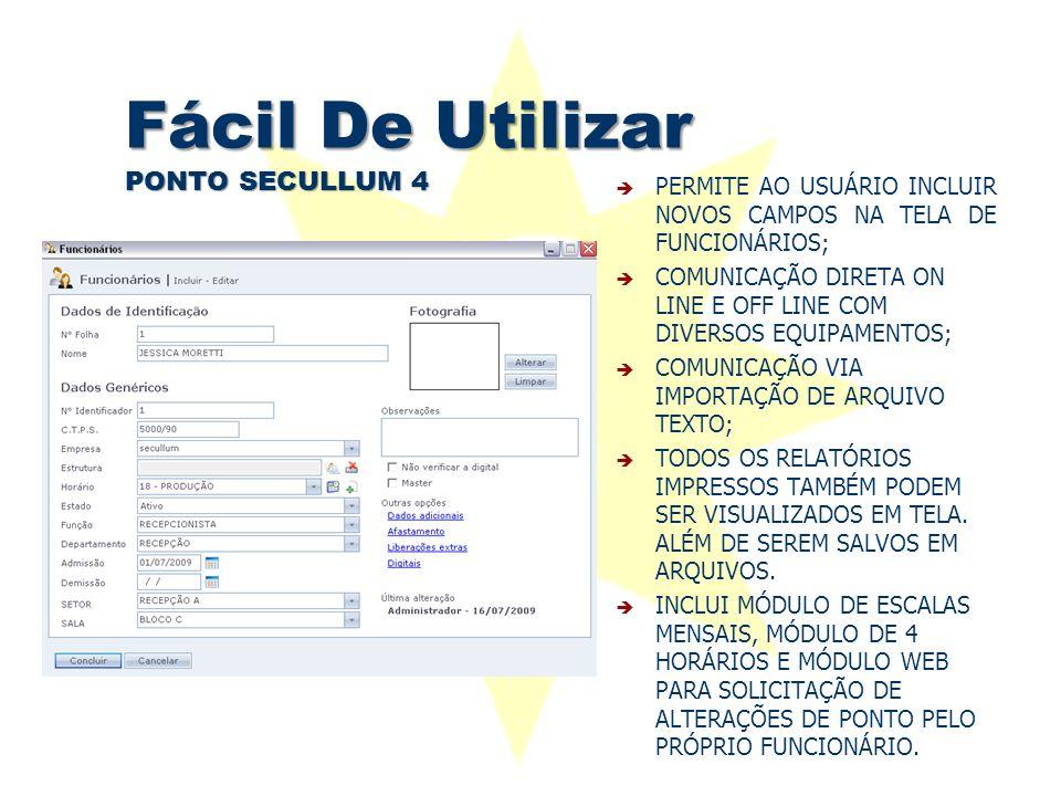 Fácil De Utilizar PONTO SECULLUM 4