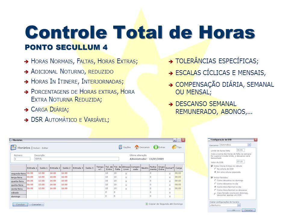 Controle Total de Horas PONTO SECULLUM 4