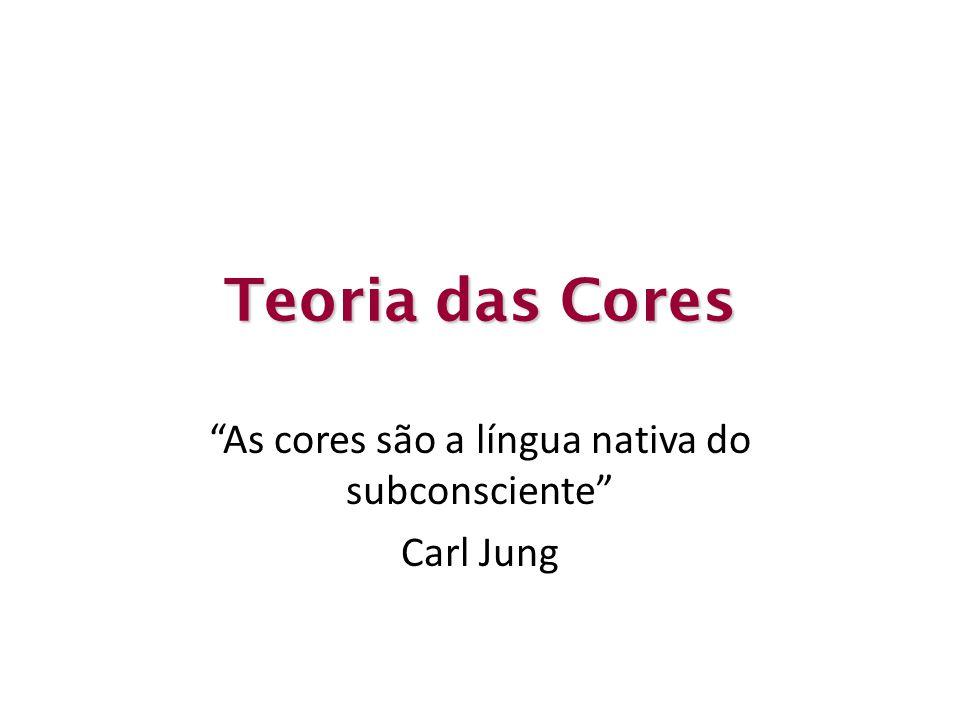 As cores são a língua nativa do subconsciente Carl Jung