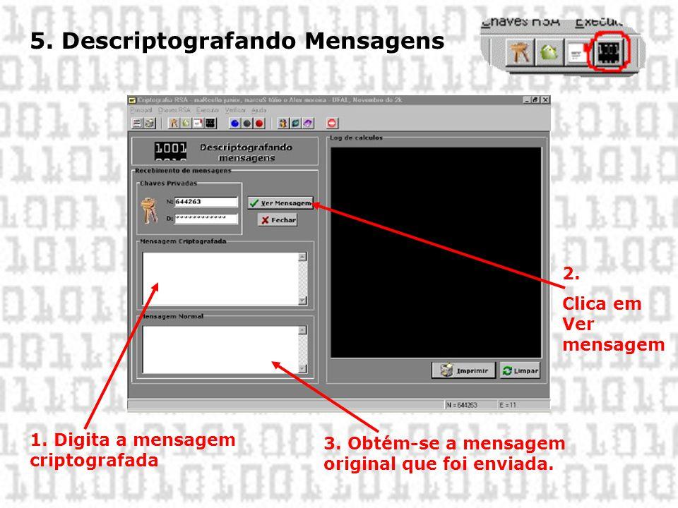 5. Descriptografando Mensagens