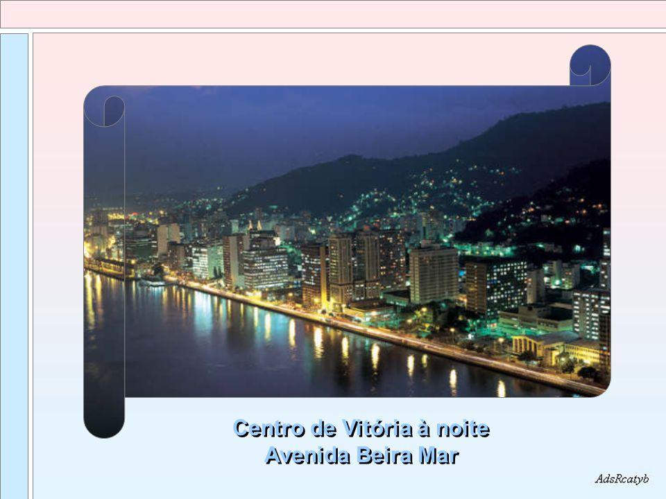 Centro de Vitória à noite Avenida Beira Mar