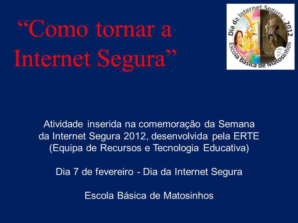 Como tornar a Internet Segura