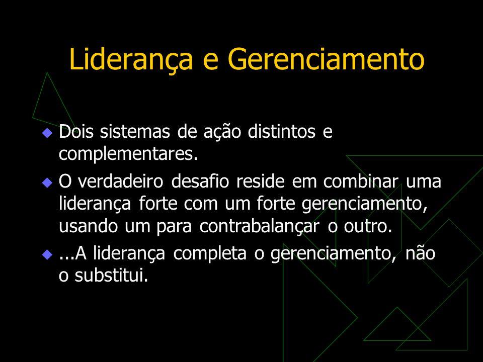 Liderança e Gerenciamento