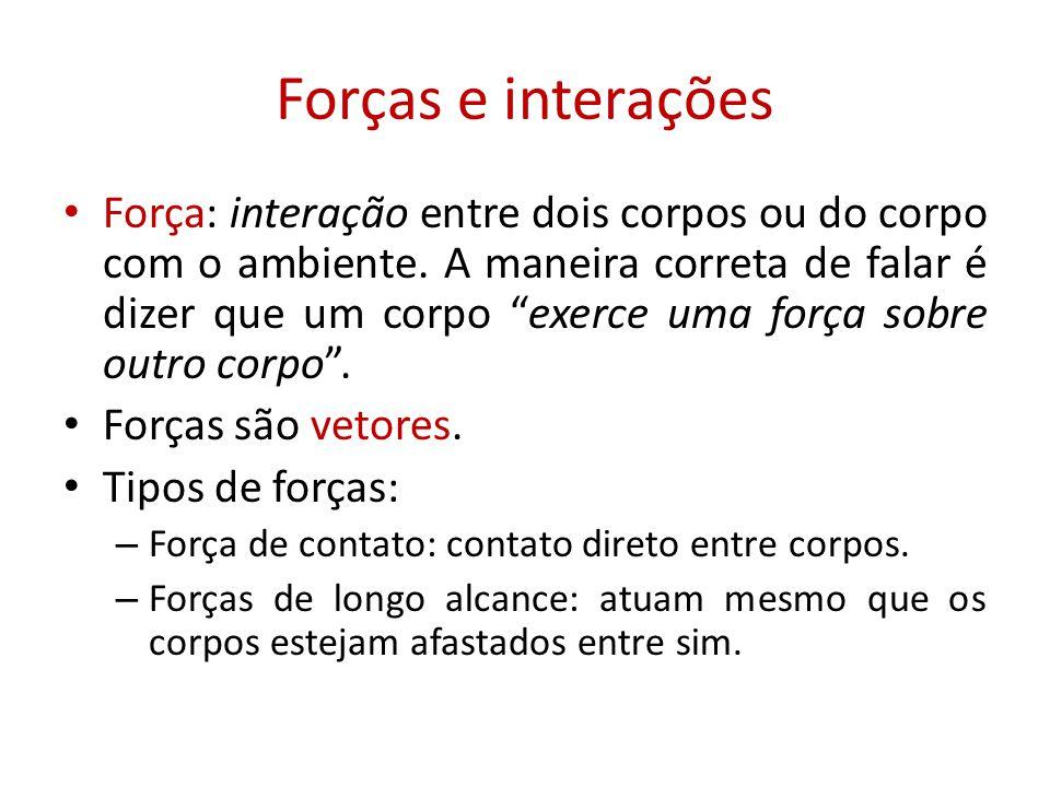 Forças e interações