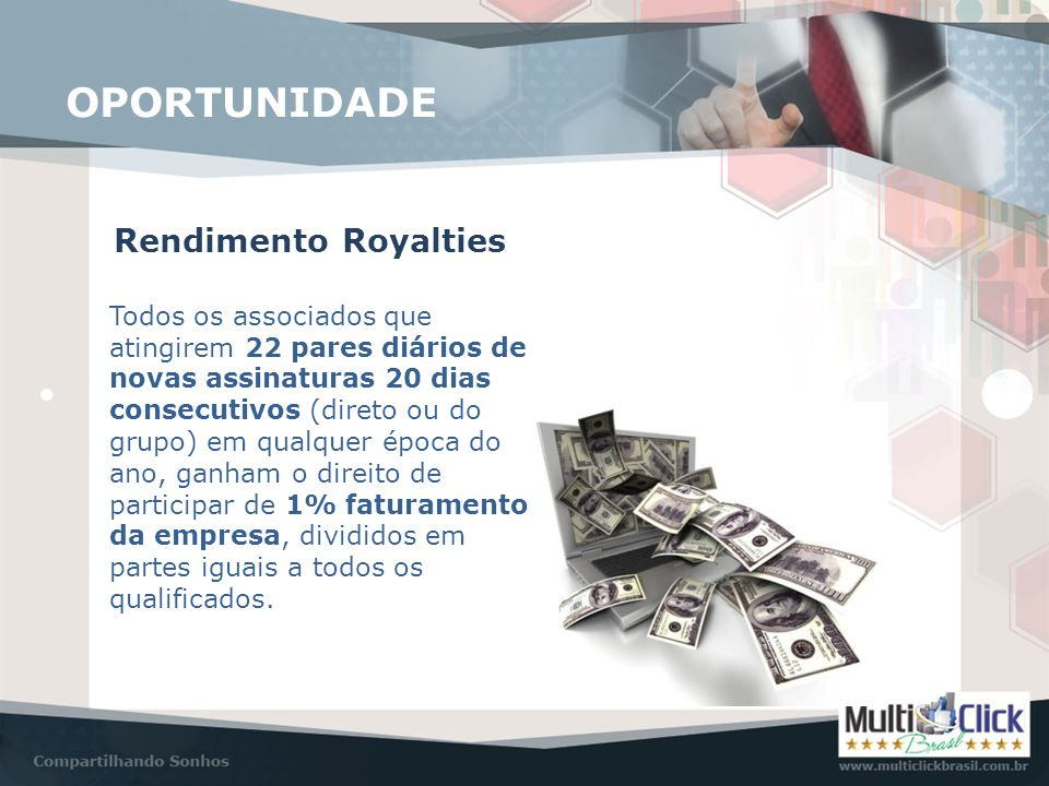 OPORTUNIDADE Rendimento Royalties