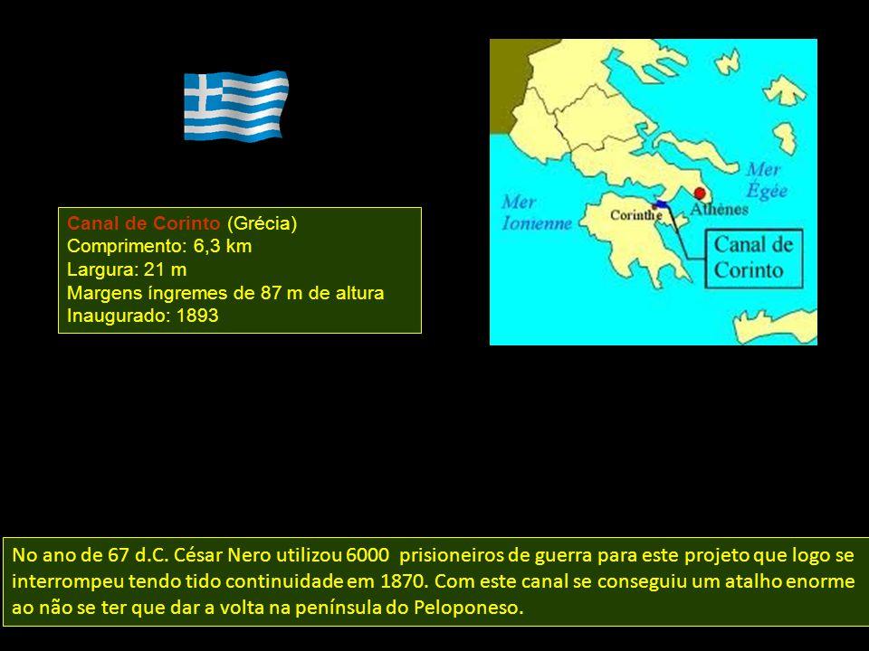 Canal de Corinto (Grécia)